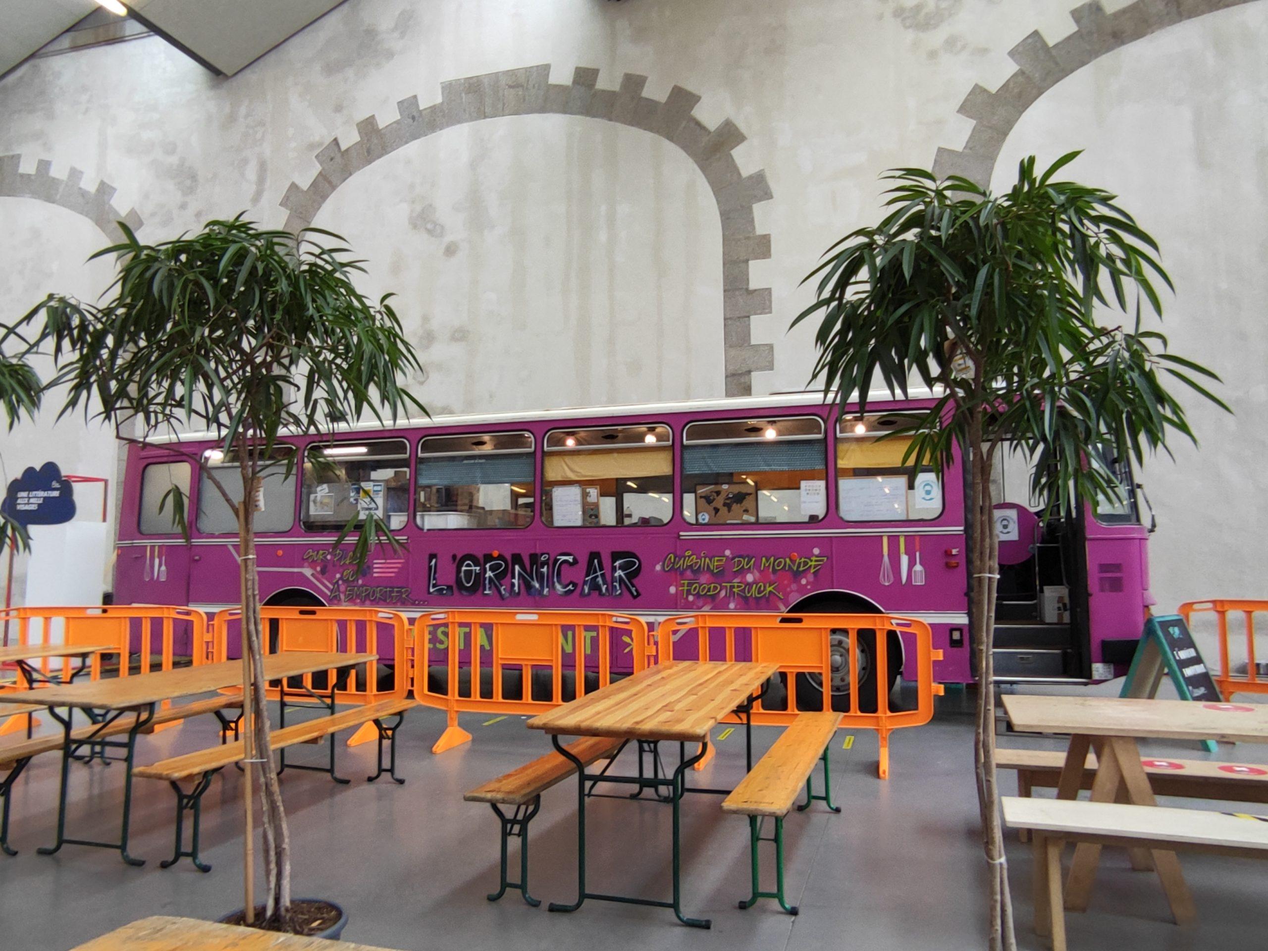 l'ornicar foodtruck au Capucins à Brest